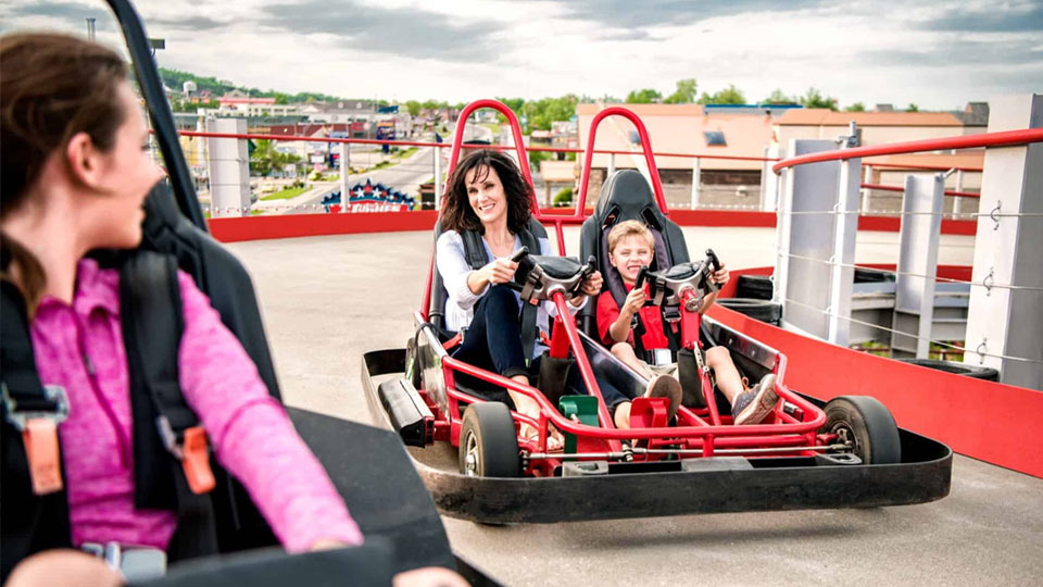 can you ride go-karts while being pregnant