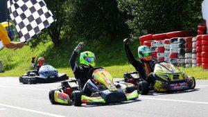 go-kart racing flags