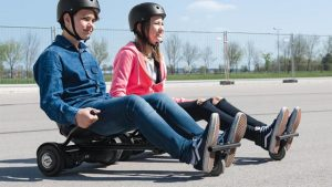 best hoverboard go-kart attachments