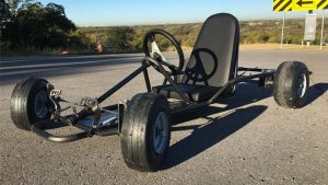 how much does it cost to build a go kart