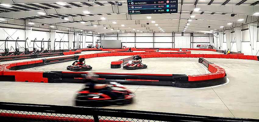 boss pro karting track in ohio