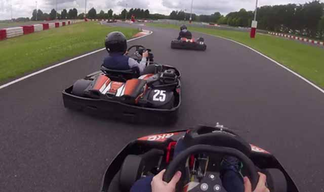 focus on the gap go-kart