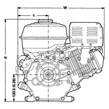 honda gx140 schematic