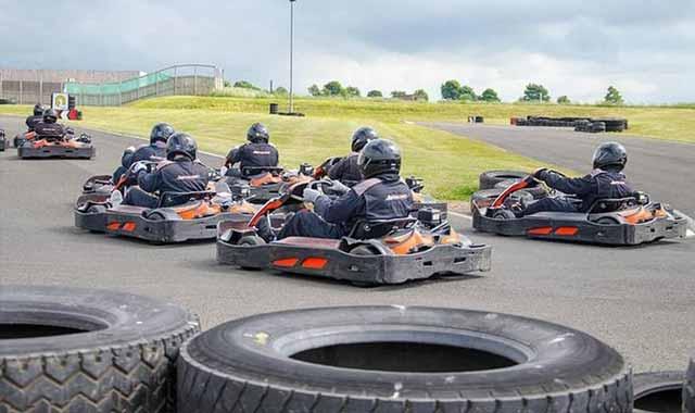 master the go-kart track
