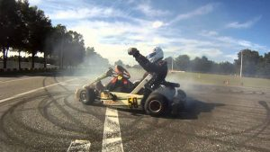 how to drift in a go-kart