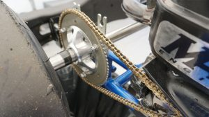 how to determine the chain size for a go-kart