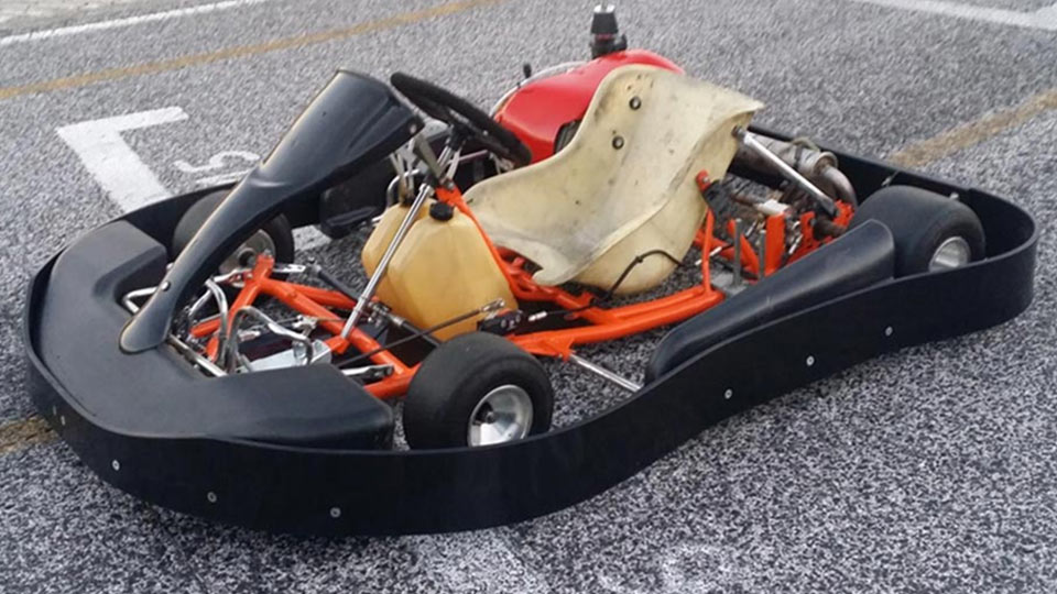 how to start a go-kart