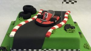 go-kart birthday cake ideas
