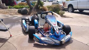 go-kart in neighborhood