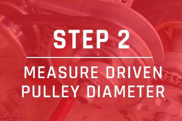 measure go-kart belt step 2