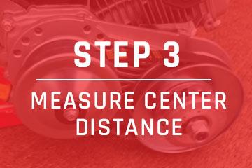 measure go-kart belt step 3