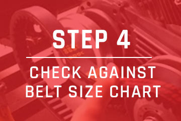 measure go-kart belt step 4