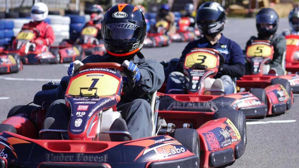 funny and cool go-kart racer names