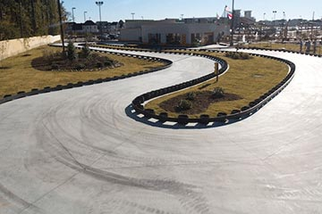 concrete race track