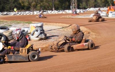 go-kart dirt track