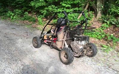 off-road go-kart dirt trails