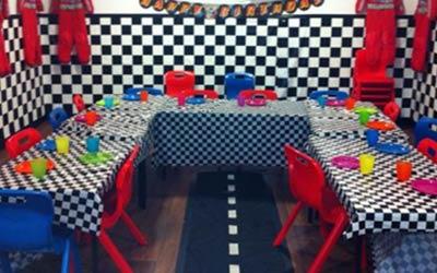 go-kart birthday party theme