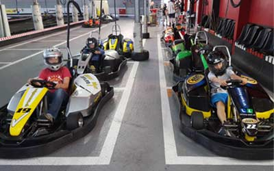 go-kart birthday party