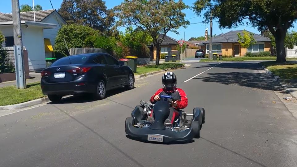 how to make a go-kart street legal