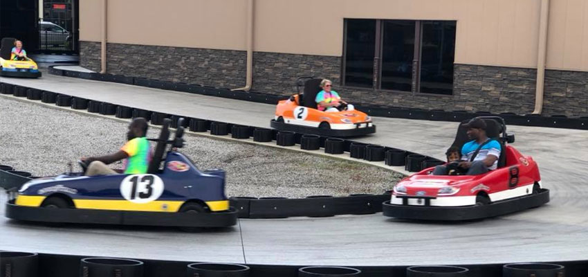 myrtle beach fun warehouse go-kart track