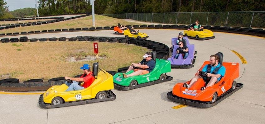 myrtle beach grand prix go-kart track