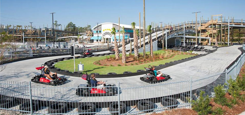 myrtle beach the track