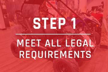 meet all go-kart requirements