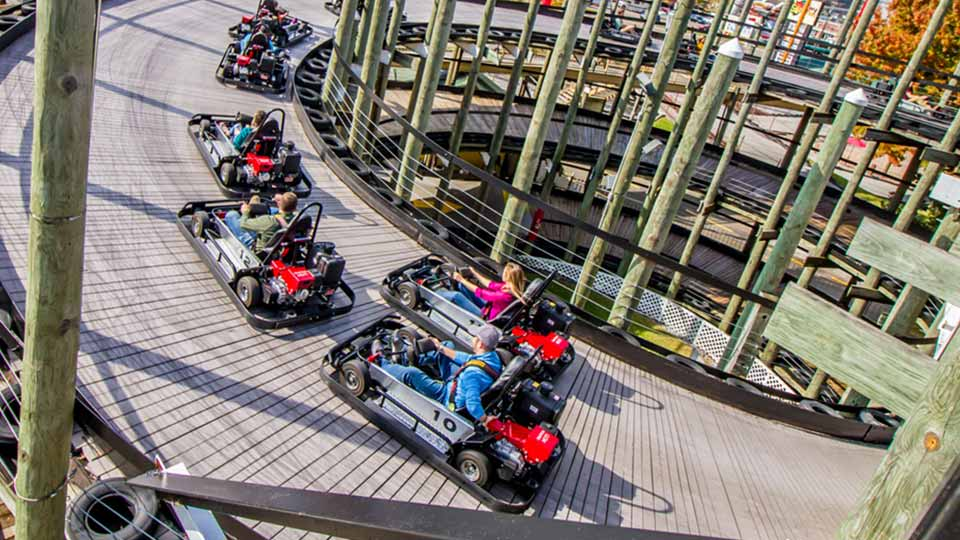 best go-kart tracks in pigeon forge