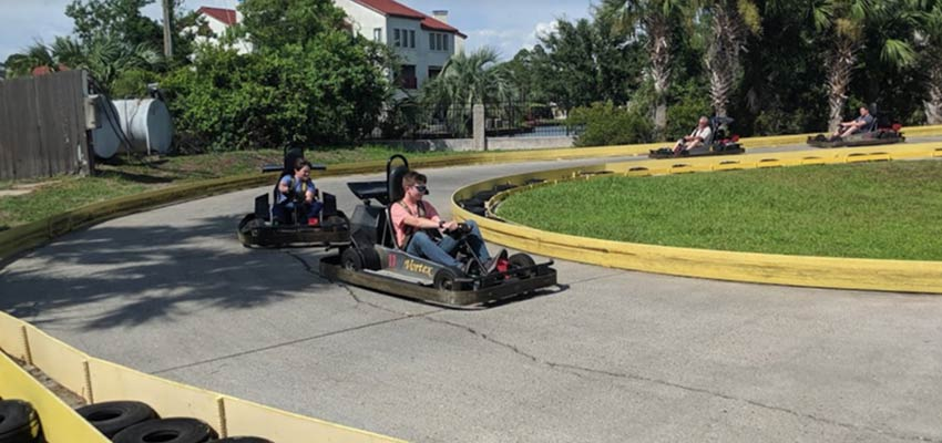 emerald falls panama beach city go-kart racing track