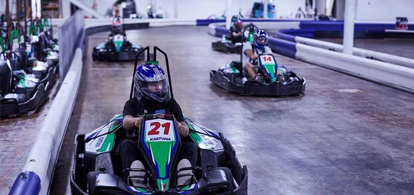 kartona electric speedway go-kart racing in panama beach city