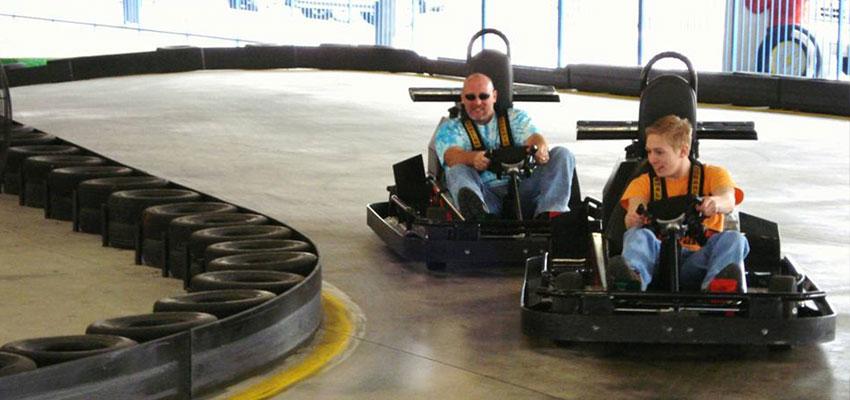 pigeon forge blake jones go kart racing