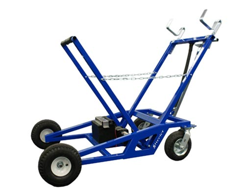 streeter electric go-kart stand