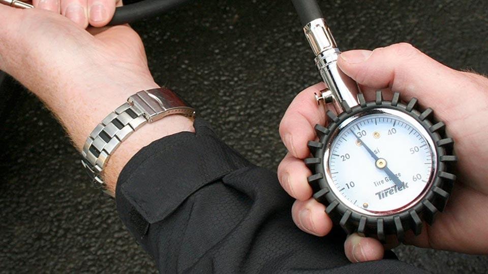 go-kart tire pressure gauge