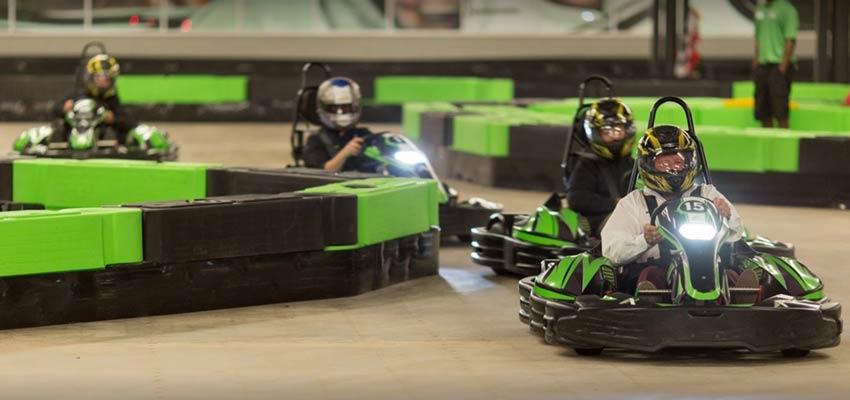 andretti indoor karting track in georgia