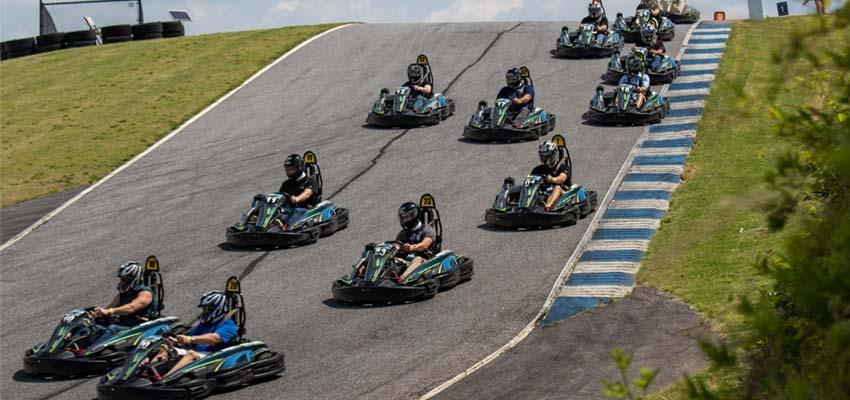 atlanta motorsports park go kart racing track