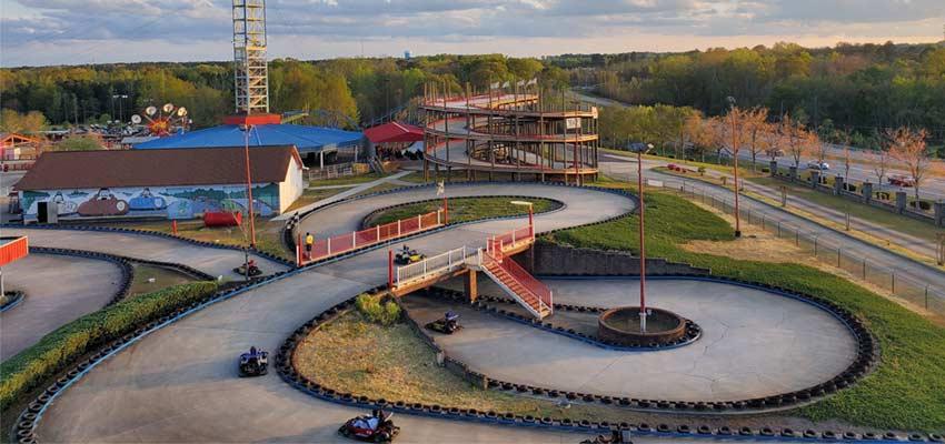 fun spot america go-kart racing track