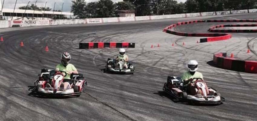 lanier raceplex georgia go-kart racing track
