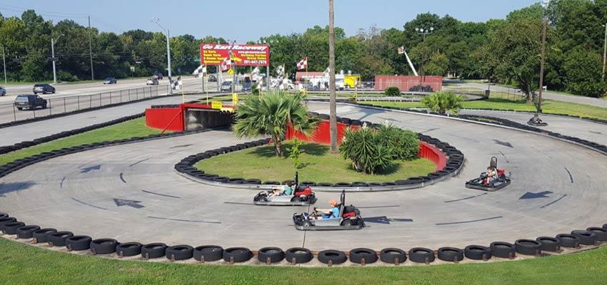 houston go-kart raceway track