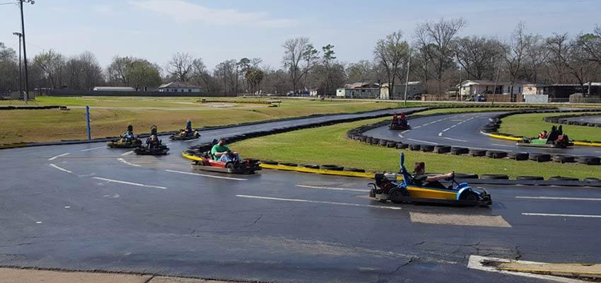 grand prix go kart racing track