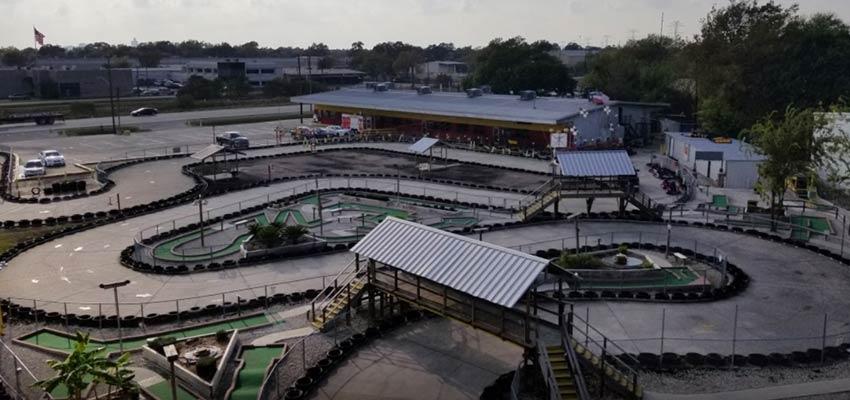 speedy's fast track amusements go-kart racing