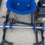 live axle on go-kart