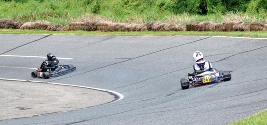 go kart racing at sandy hook speedway in maryland