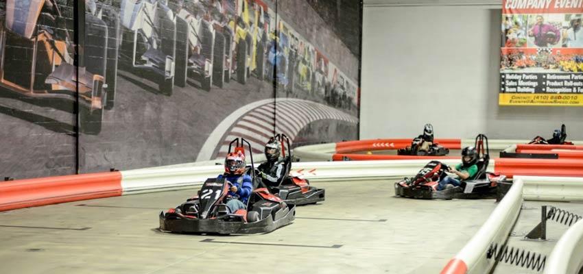 go karting indoor speedway baltimore