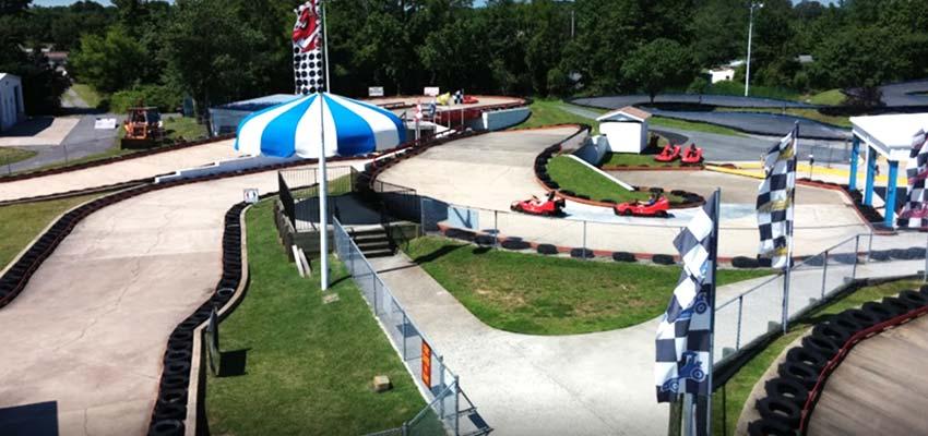 ocean city go-kart racing grand prix amusements