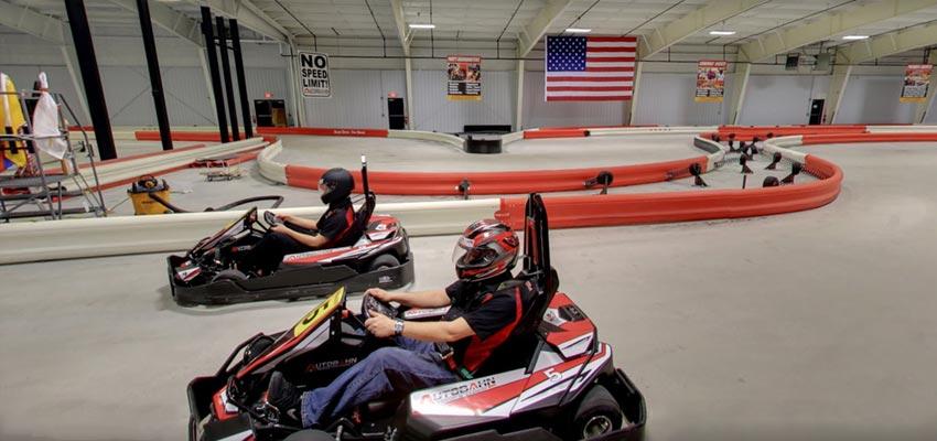 Autobahn Indoor Speedway Harrisburg go karting