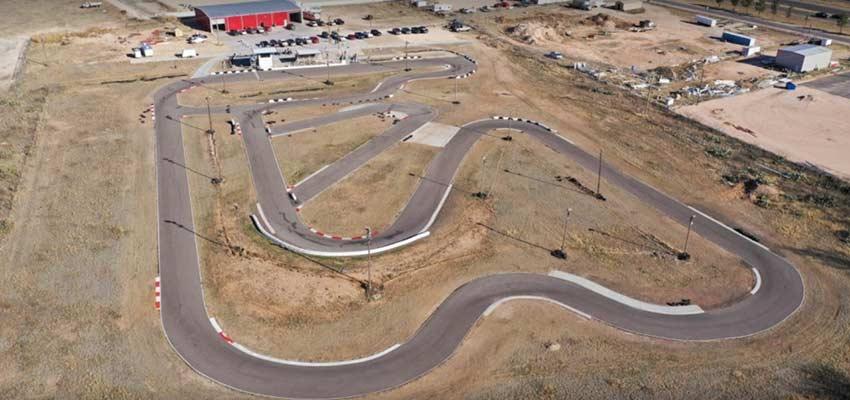 texas rimrock raceway go-kart racing track