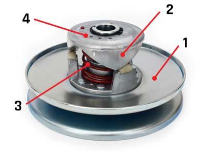 how to adjust go kart torque converter