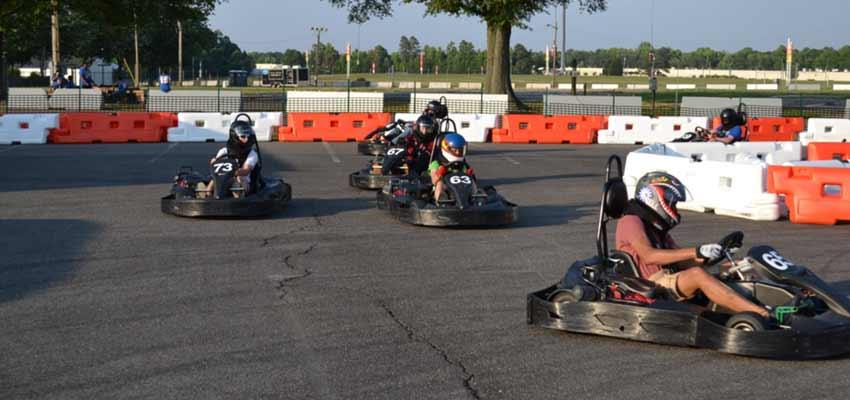 virginia g-force karts go-kart racing track