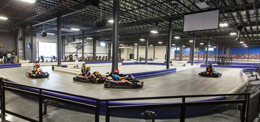 overdrive go kart racing tracks
