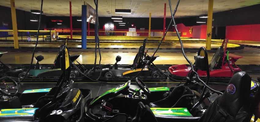 indiana Fast Track Racing go karts